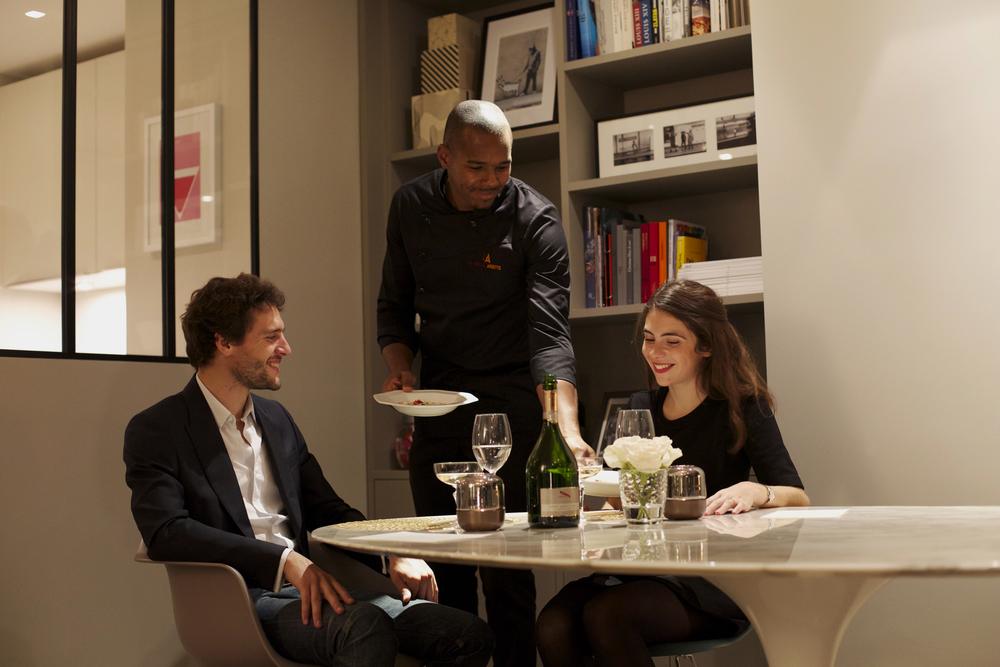 Un chef à domicile pour un dîner romantique A partir de 88€ (pour 2)