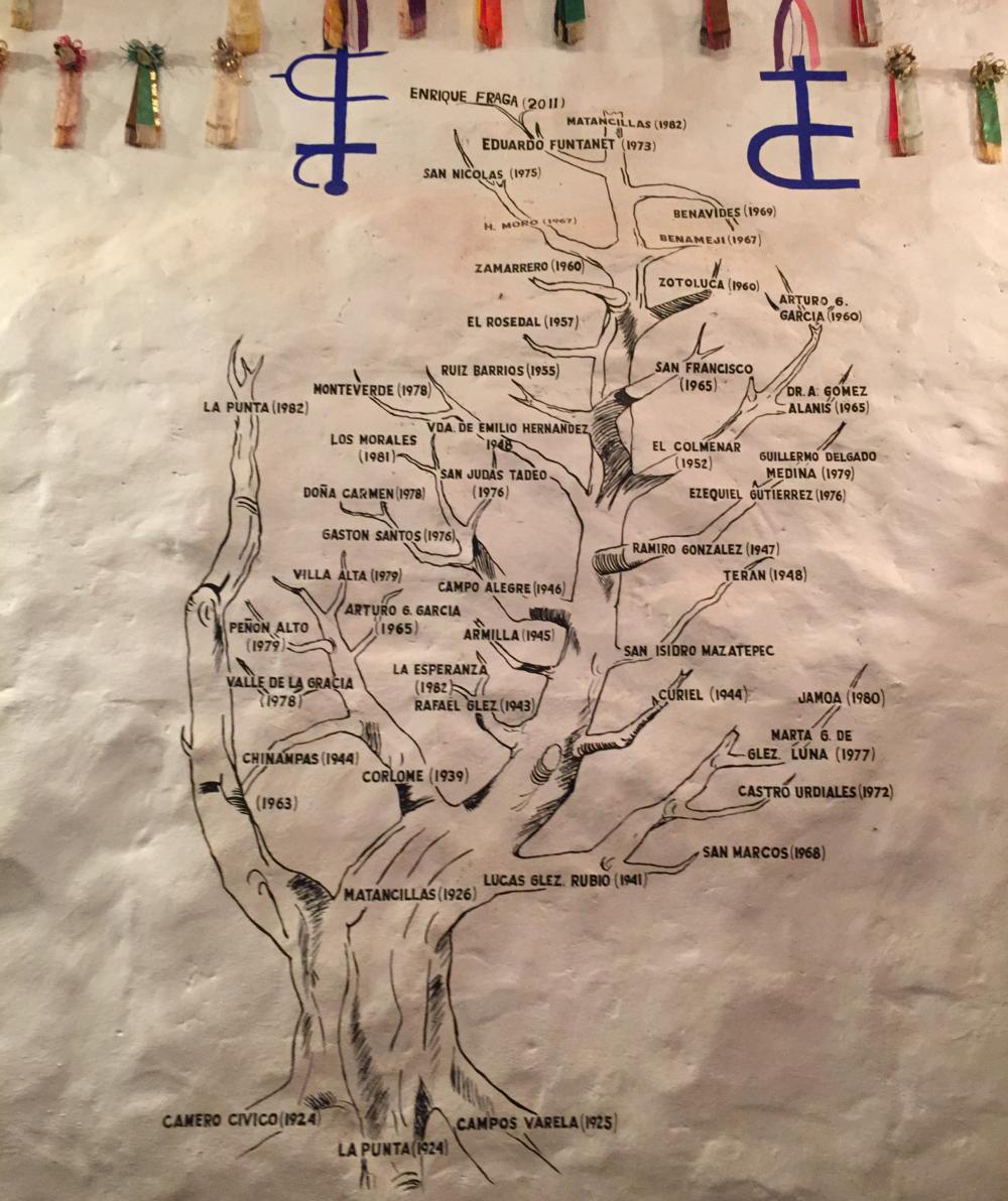 El árbol genealógico de nuestra casa.