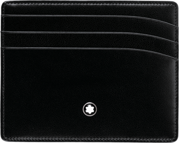 Một chiếc card holder của Mont Blanc.