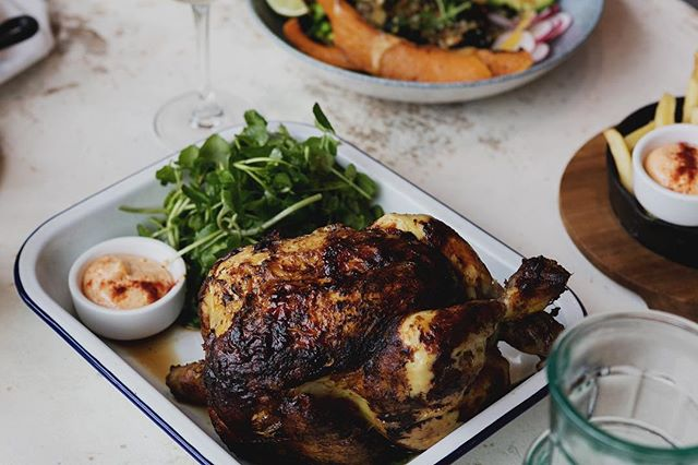 That late night at the office doesn't have to come at the cost of a virtuous, scratch-cooked meal. Cluck & Collect means you can enjoy delicious, nutritious food at home without having to spend time cooking.  Pictured: Lemon & Tarragon Rotisserie Chicken