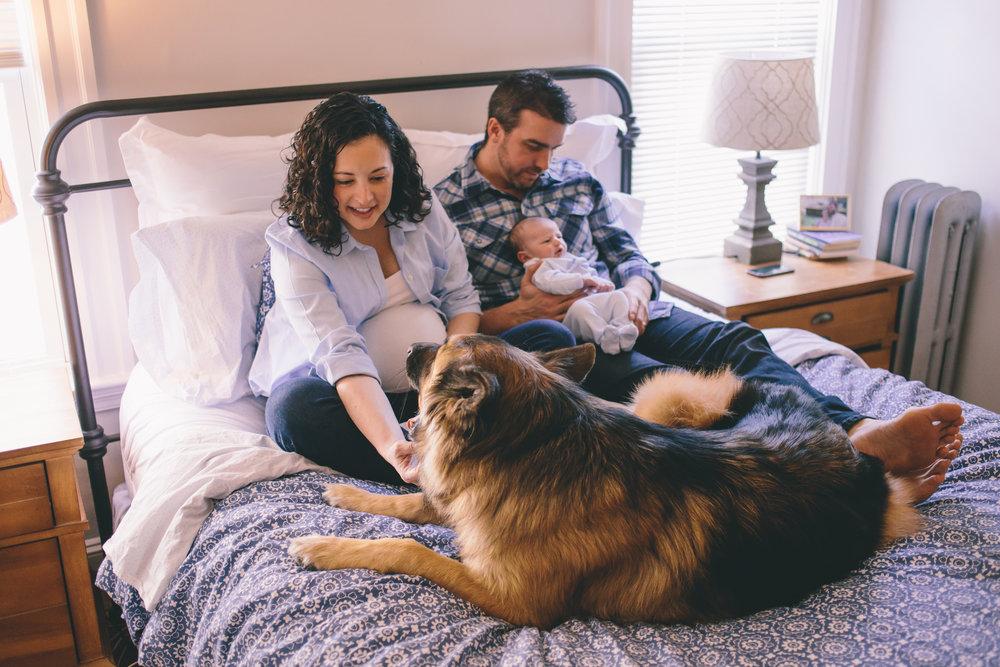 newborn lifestyle photo session