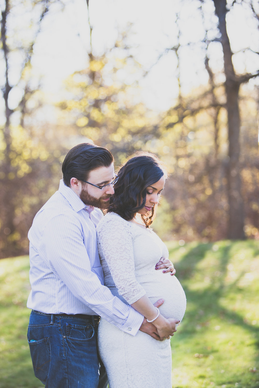 boston outdoor maternity photo shoot