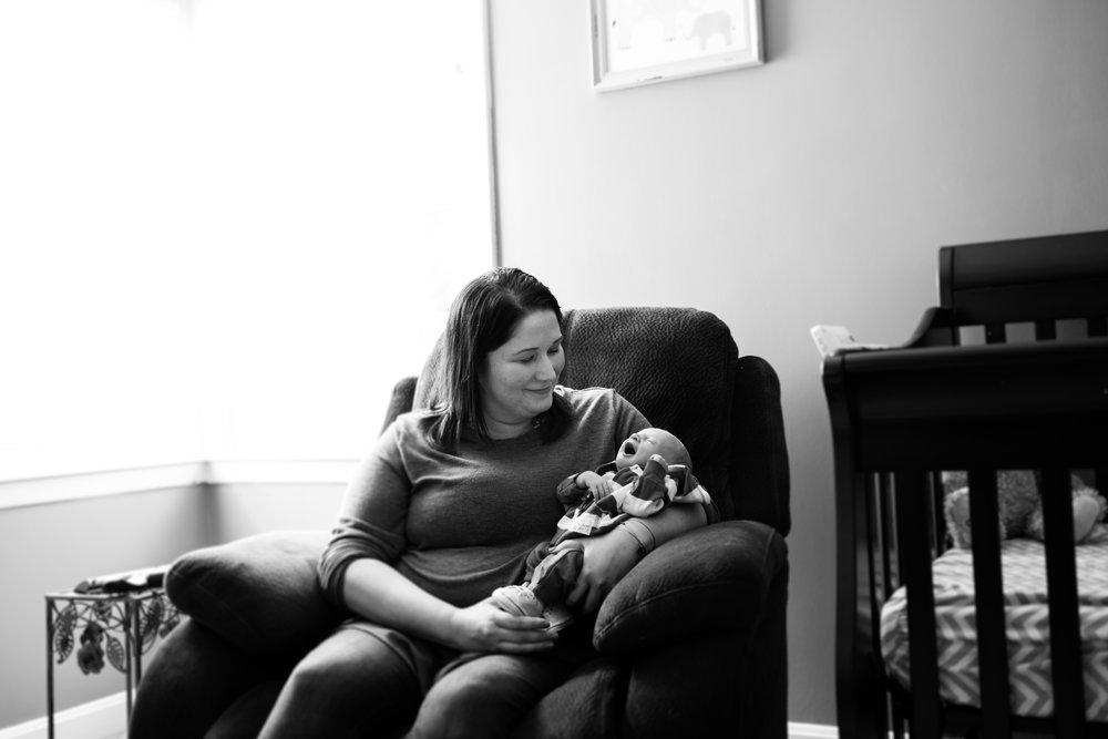 baby boy nursery session boston