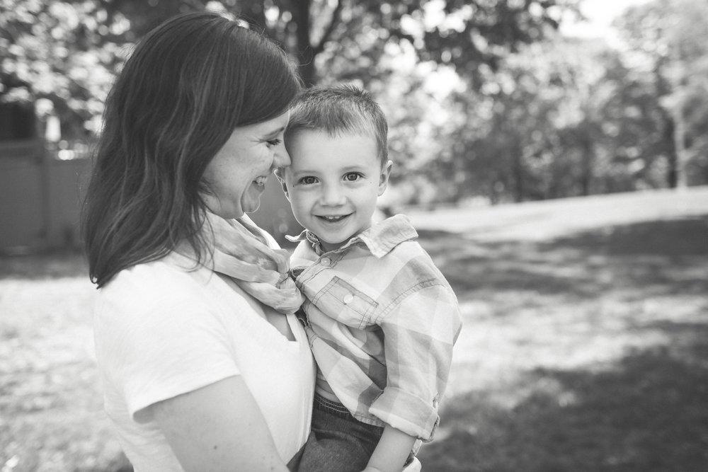 mother and son portrait endicott park