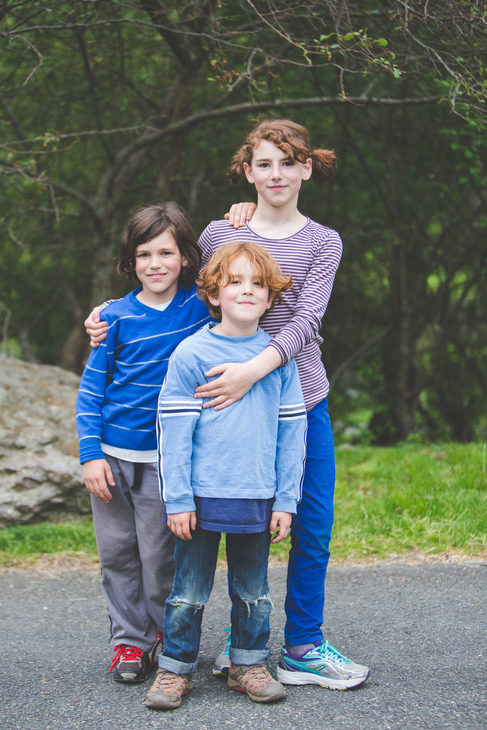 larz anderson family lifestyle session