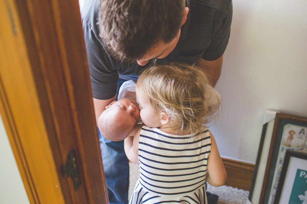 Newton family indoor photography