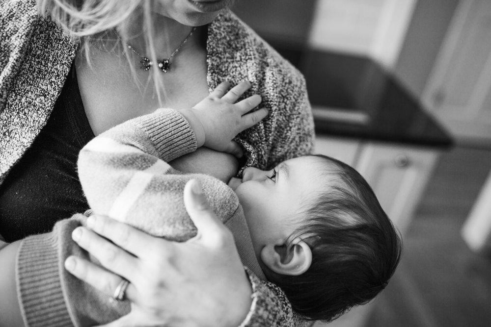 lifestyle nursing photography hopkinton
