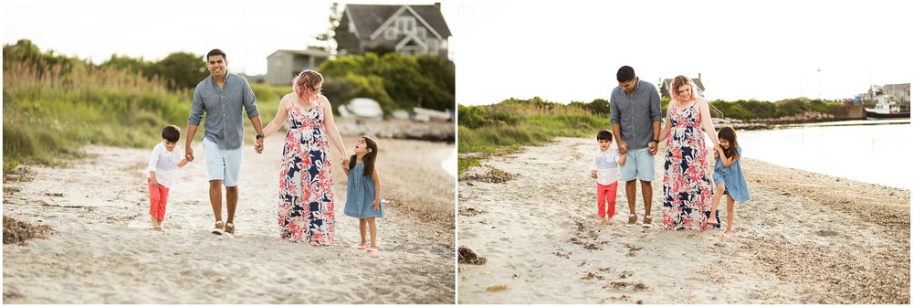 boston family beach photography
