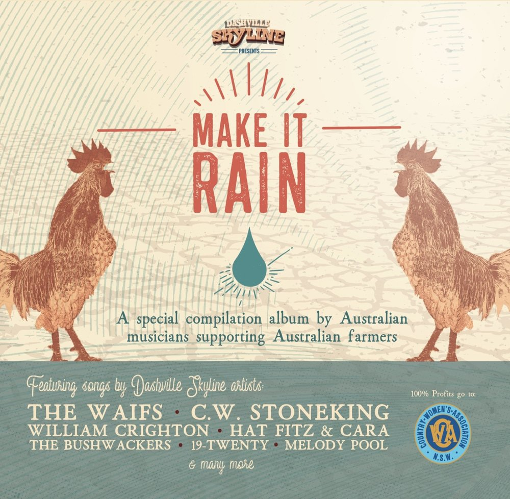 COMPILATION ALBUM FUNDRAISER - We are proud to share our song Saviour Someday on this awesome compilation album for drought relief. Pre-order HERE!