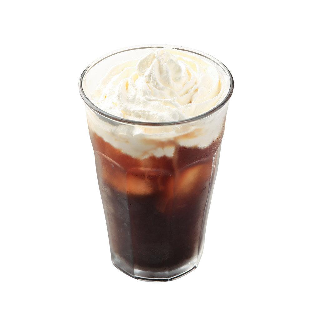 Iced Coffee+Whipped Cream - ¥500
