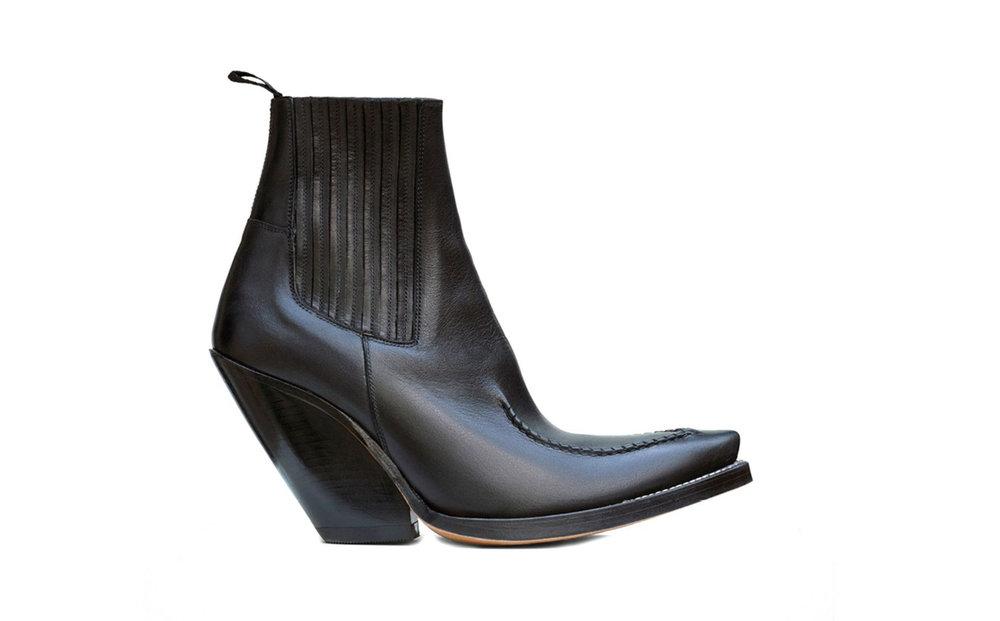 Céline,  santiag stitched mid boot , $1,150.