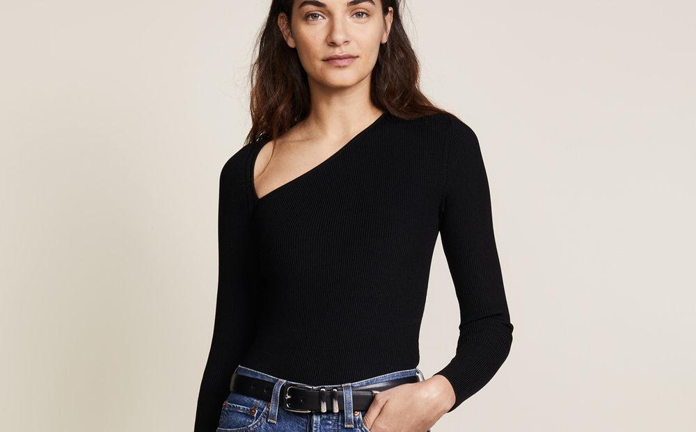 Cushie Et Ochs,  black vivian knit bodysuit , $695.