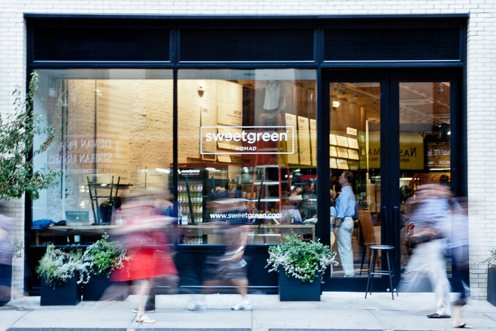 Sweetgreen Nomad Store