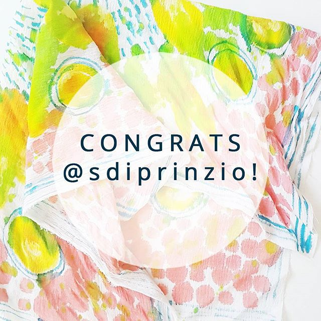 Congratulations to our giveaway winner, @sdiprinzio! And thank you to everyone who entered! If you were holding out, today is the day to grab your seat in the class at our early bird rate (goes up to $45 tomorrow). Click the link in my bio to sign up, hope to see you there!