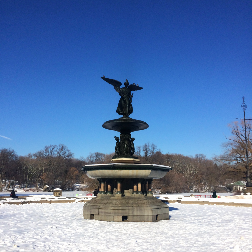 Bethesda Fountain and Terrace - Central Park, New York