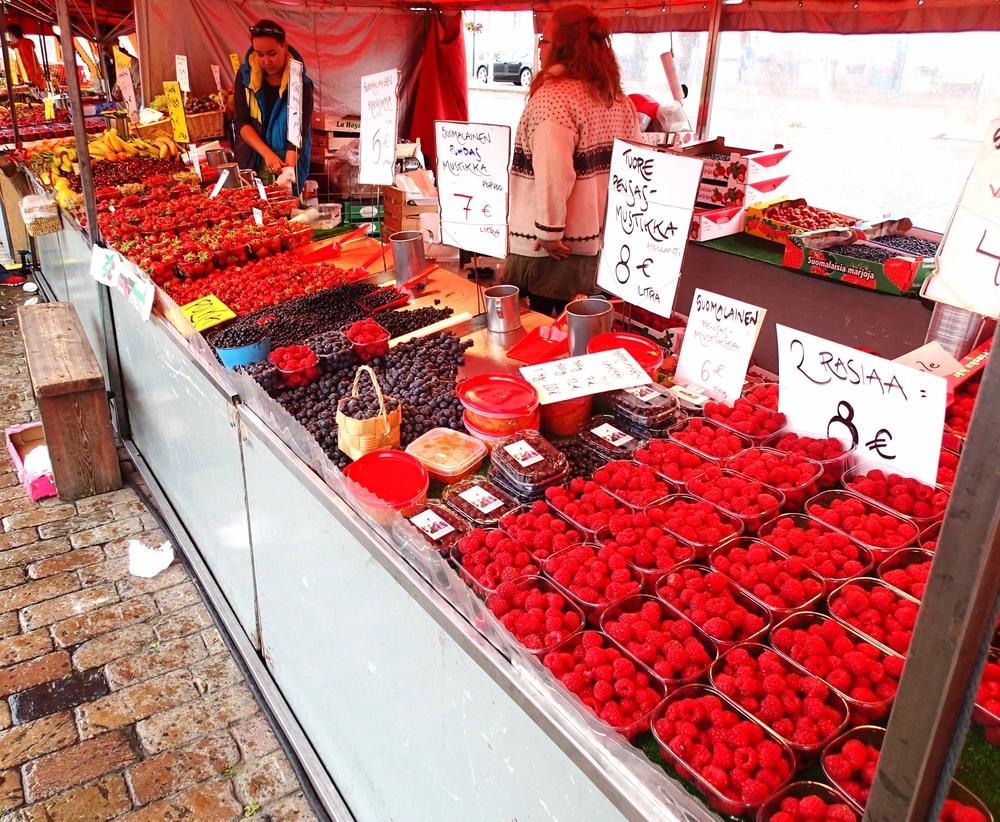 Market Square, Helsinki Finland