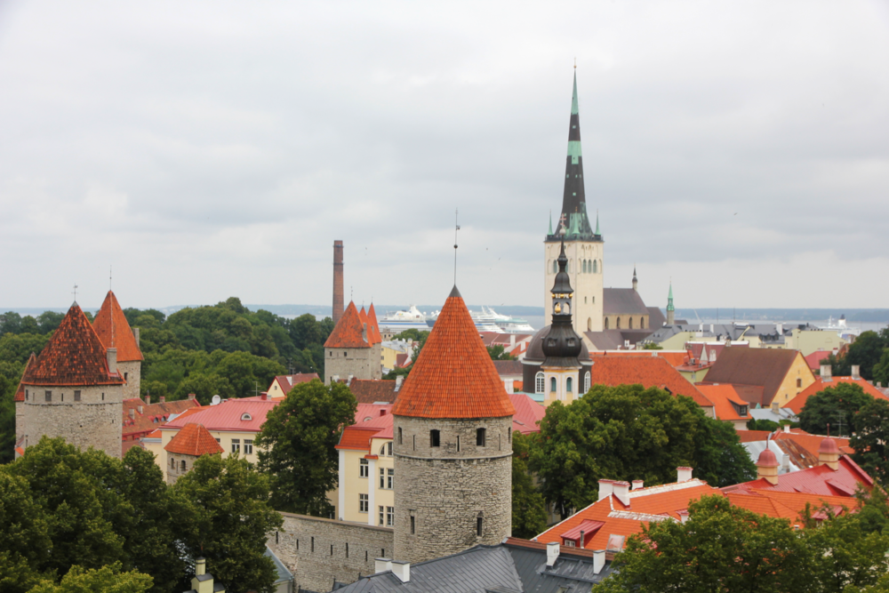 View Point of Tallin, Estonia