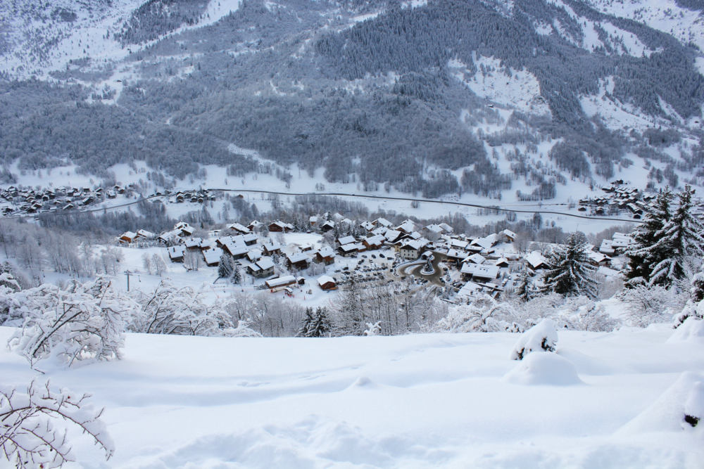 Meribel Village, French Alps