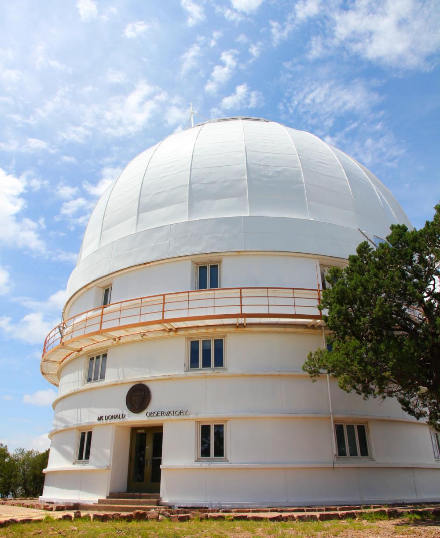 Otto Struve TelescopeMcDonald ObservatoryFort Davis, Texas