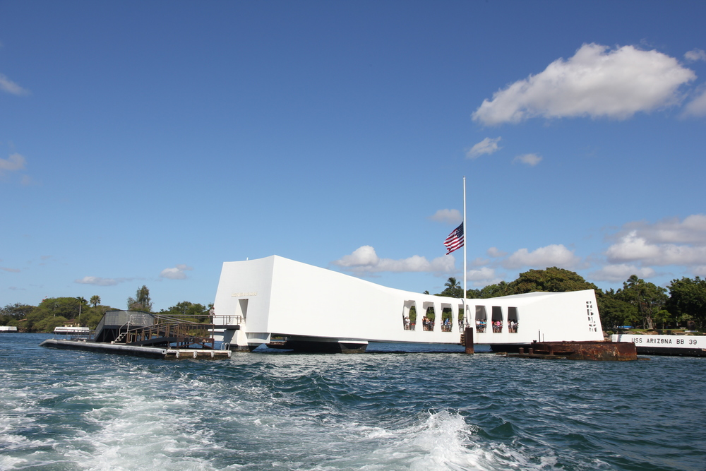 Pearl Harbor USS Arizona Memorial, Honolulu O'ahu