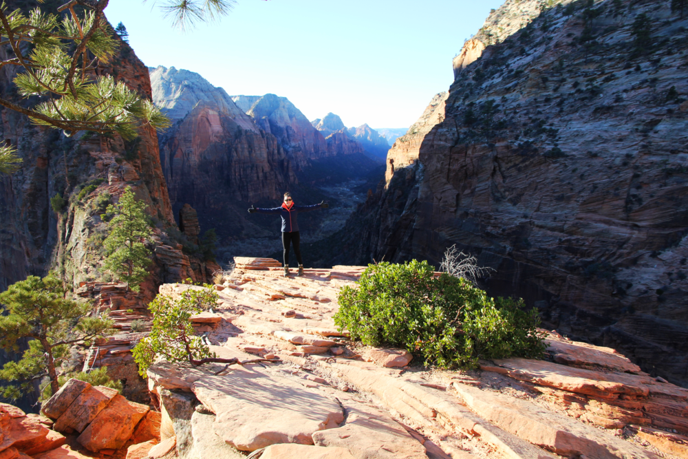 Angels Landing Hike, Zion National Park, Utah