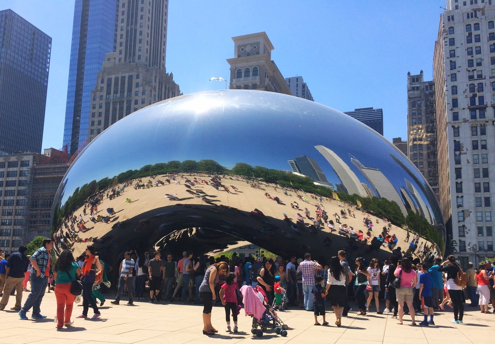 Cloud Gate or The Bean, Chicago