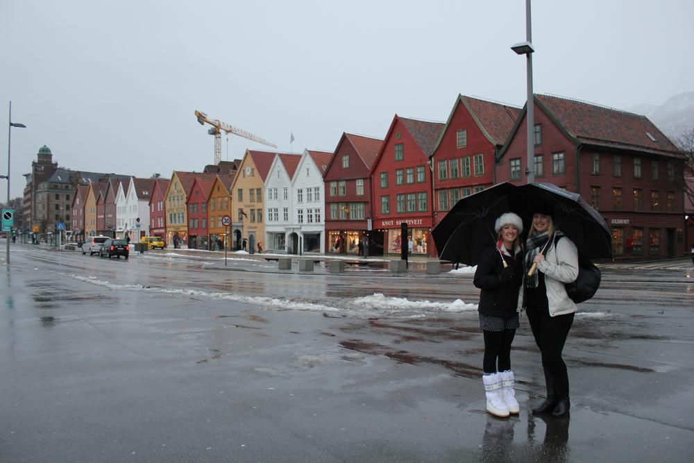 Bryggen Hanseatic Wharf, Bergen Norway