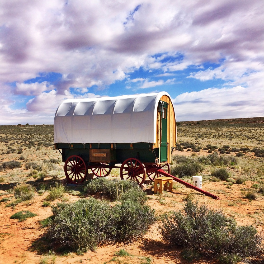 Air BnB Sheep Wagon - Page, Arizona