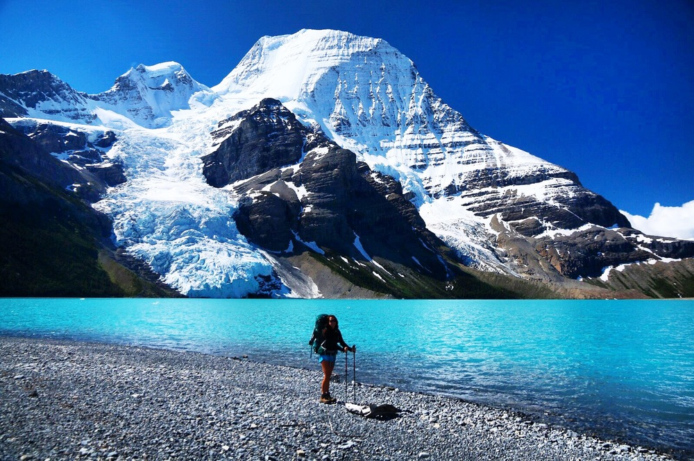Berg Lake, Mt. Robson - Canada