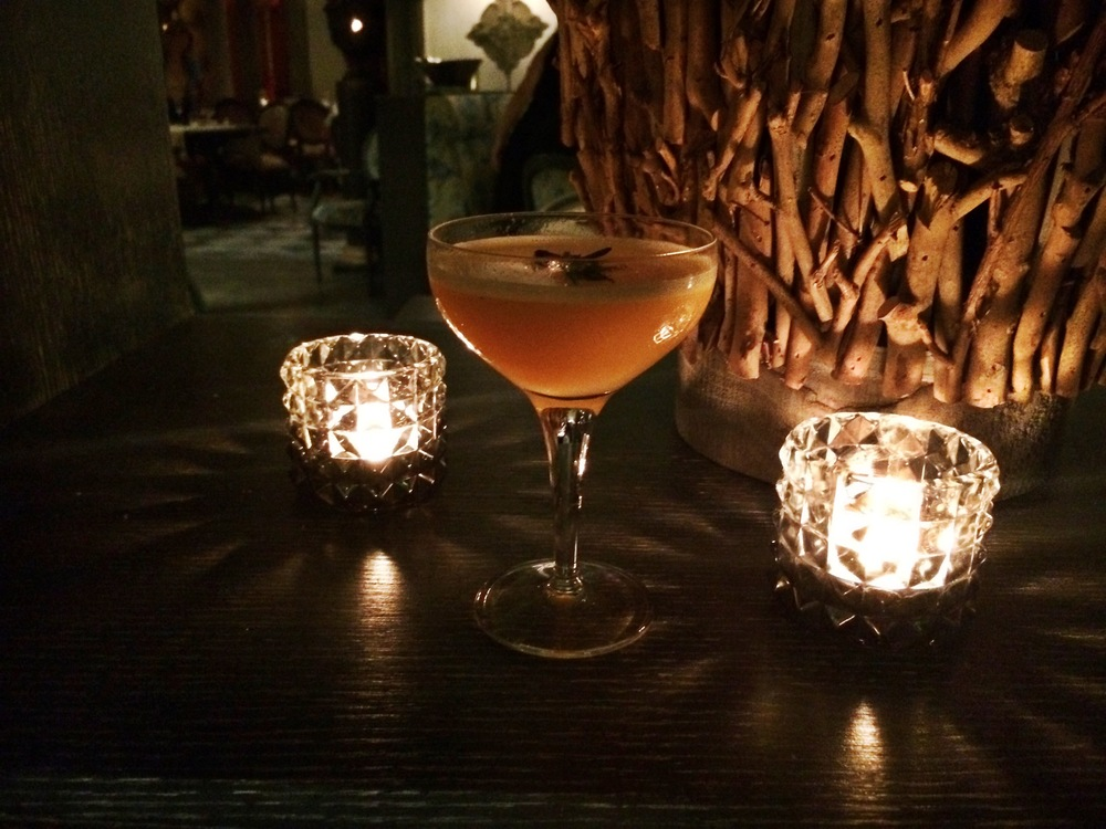 Its not on the menu but ask for a Passion fruit Martini, you won't be disappointed