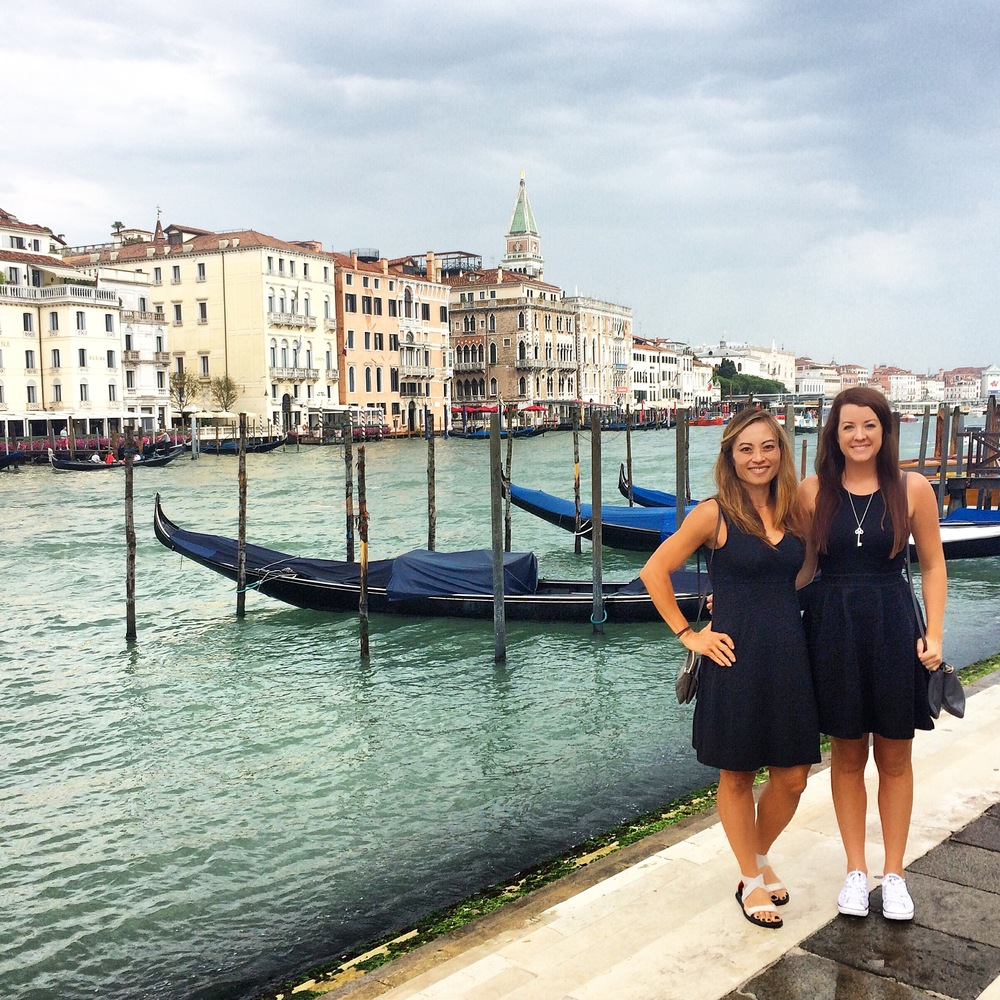 Views of the Grand Canal, we didn't let the rain stop us