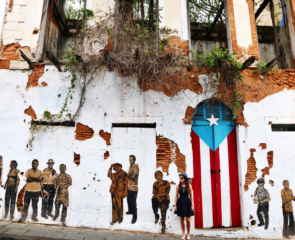 Exploring the streets of Puerto Rico