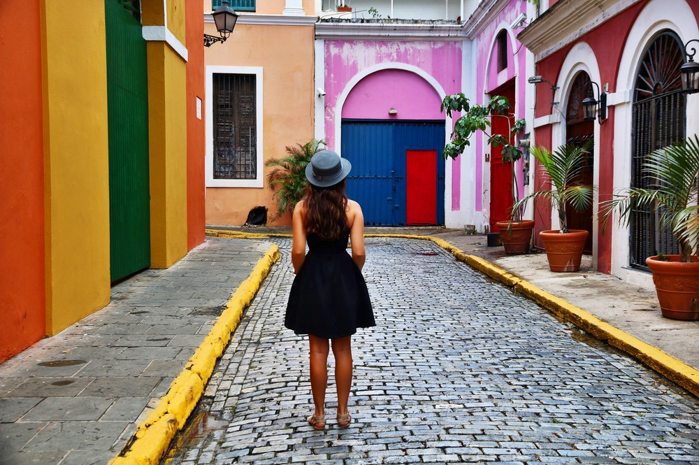 Discovering the streets and colors of Puerto Rico