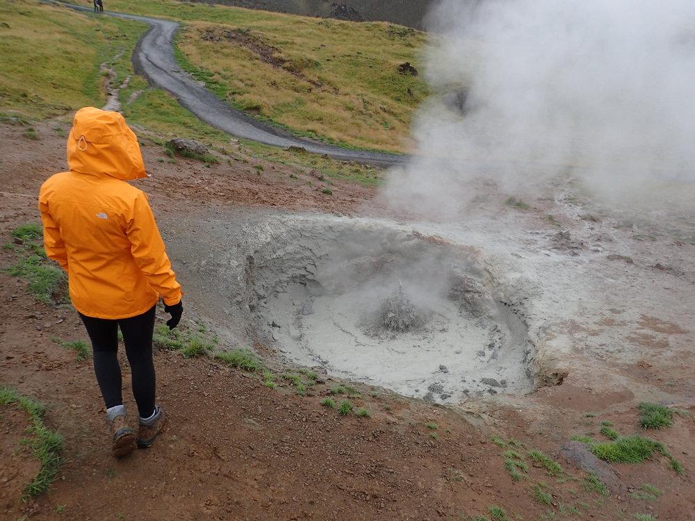 Hveragerdi Geyser, Iceland