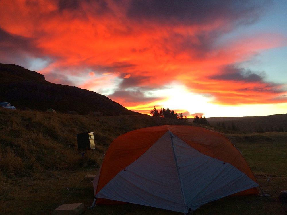 Flókalundur Sunrise, Iceland