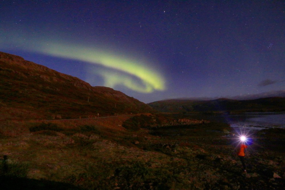 Flókalundur Northern Lights, Iceland