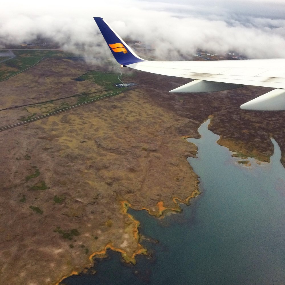 Views from Icelandic Air