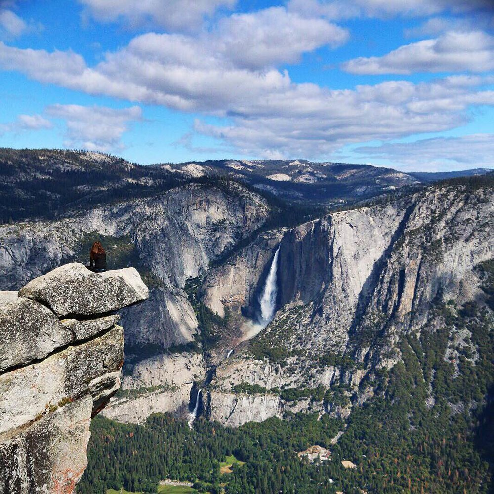 Glacier Point - Yosemite National Park (California)