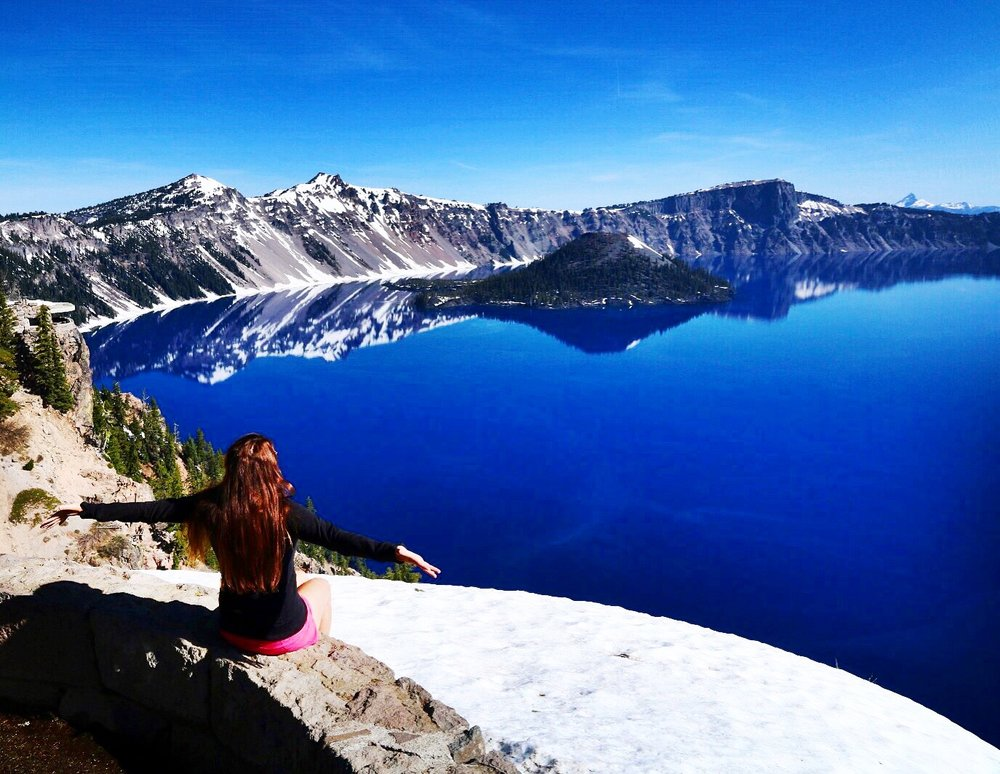 Crater Lake - Crater Lake National Park (Oregon)