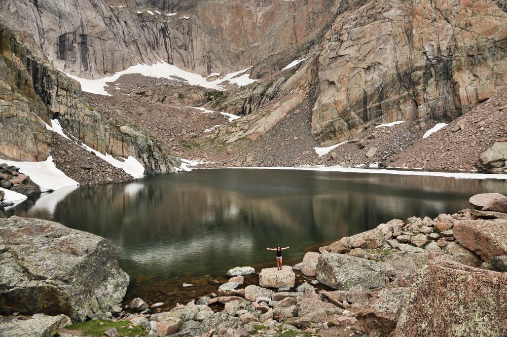 Chasm Lake - Rocky Mountain National Park (Colorado)