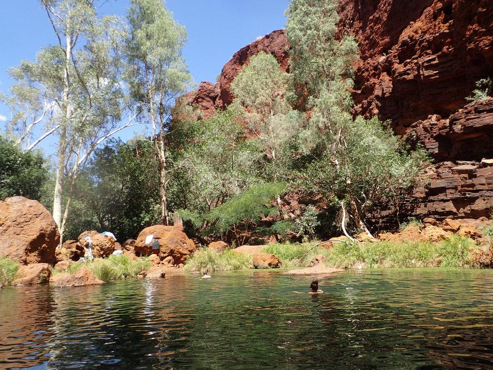 Circular Pool, Karajini - Western Australia