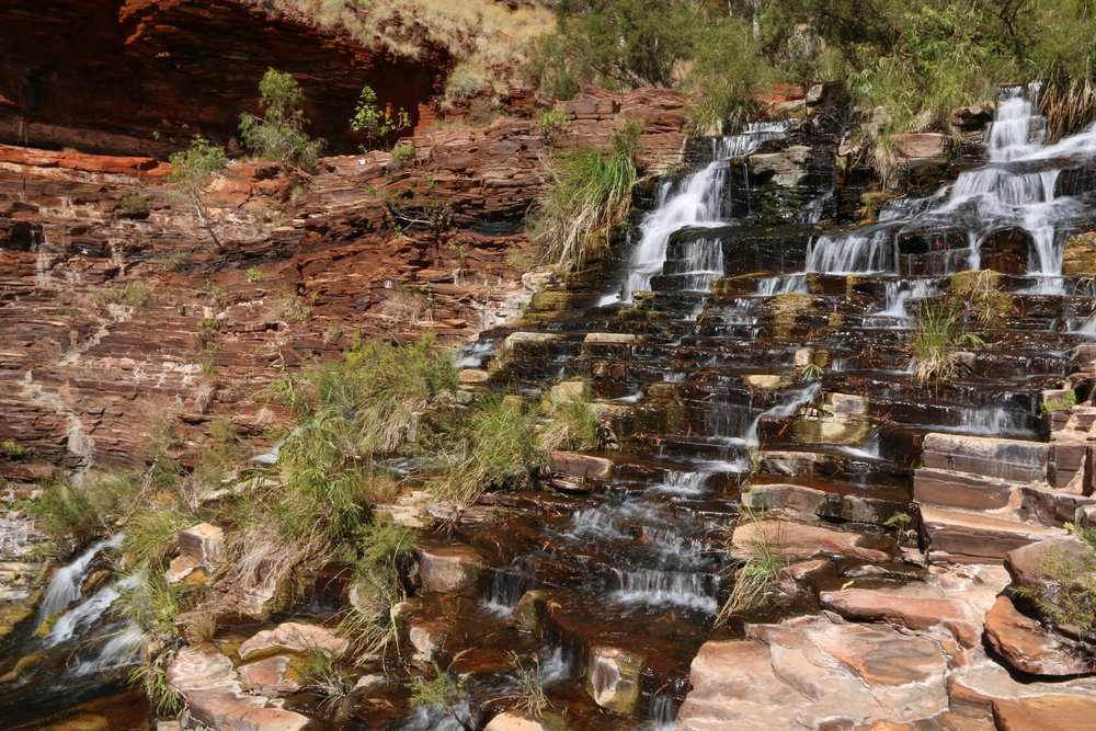 Fortescue Falls, Karajini - Western Australia
