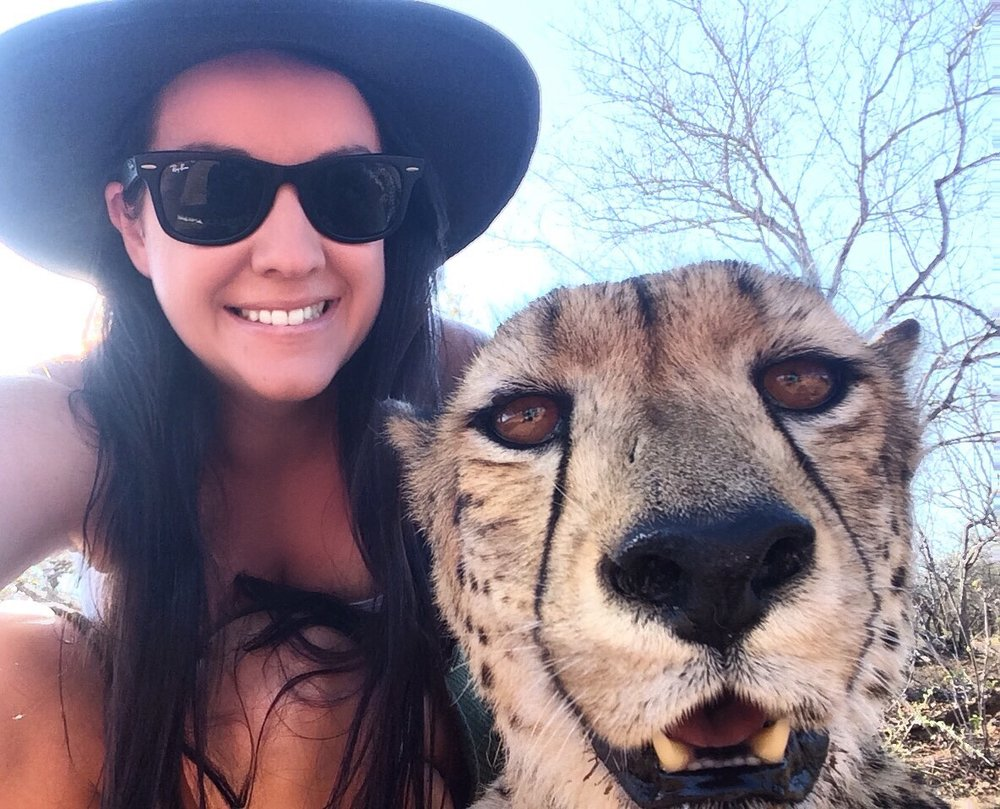 Selfie with Floppy! - South Africa
