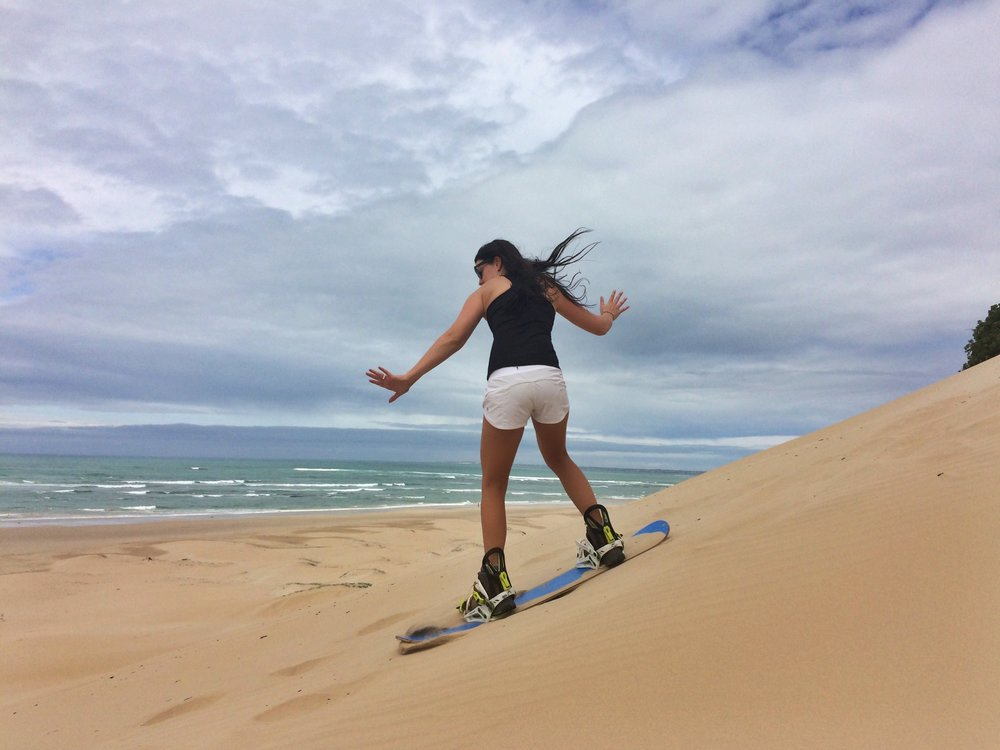 Sandboarding in Jeffries Bay - South Africa