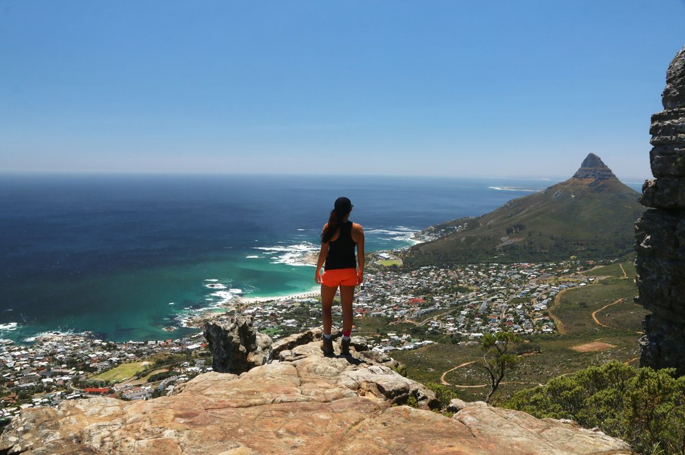 The views on the way down Table Mountain - South Africa