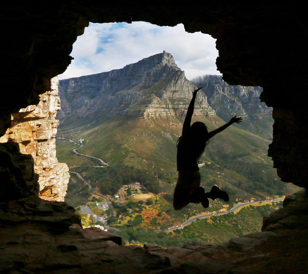 Wally's Cave Lions Head - South Africa