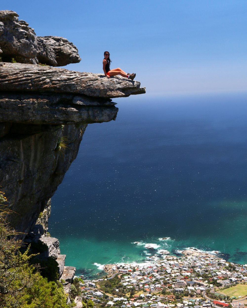 The Diving Board - Table Mountain - South Africa