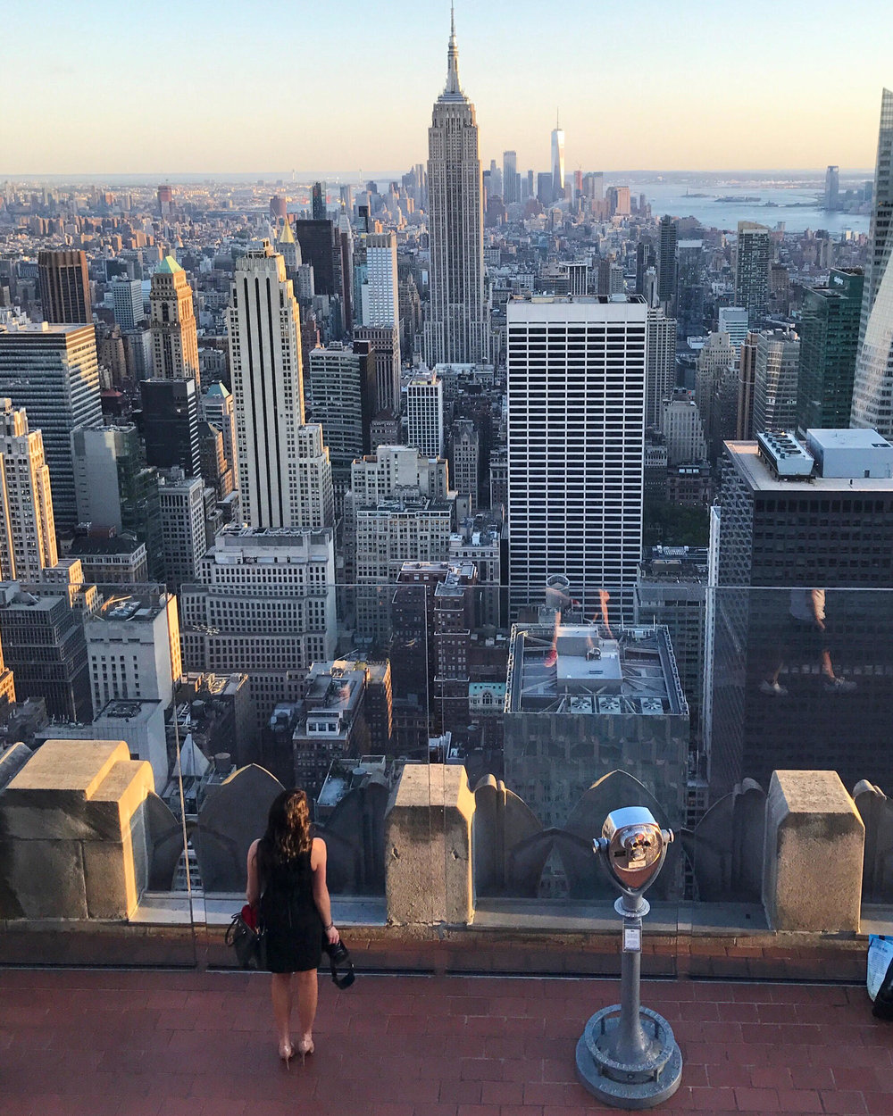 Best view in the City - Top of the Rock, NYC