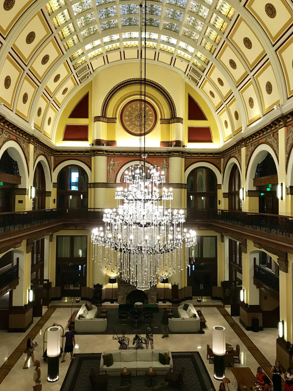 Union Station Hotel Lobby - Nashville