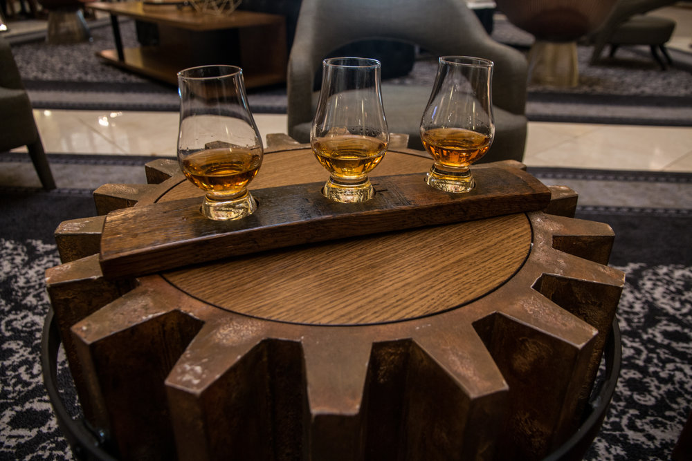 Bourbon Flight, Union Station Hotel - Nashville